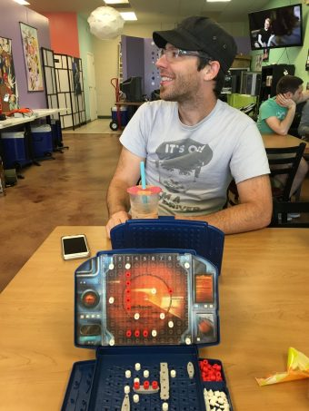Battleship and boba at Lucky Straws