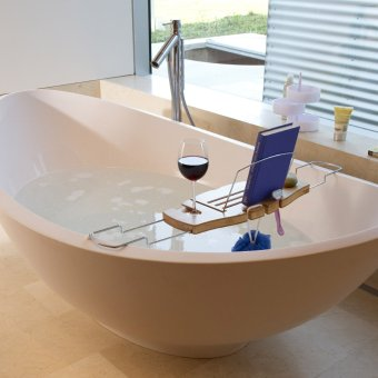 Maybe not the best picture to use when trying to dissuade you from taking a relaxing bath... :)